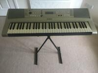 Yamaha PSR-313 full size electric keyboard and stand