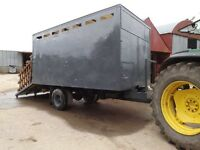 Horse/ cattle/ sheep trailer