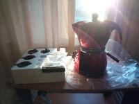 Bialetti Mokissima Trio Red coffee maker