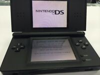 USED NINTENDO DS - BLACK - OTHER COLOURS ALSO AVAILABLE - CAN BE SWAPPED IN STORE FOR OLD GADGETS