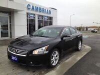 2013 Nissan Maxima 3.5 SV (Heated Leather + Roof!)