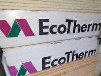 Ecotherm celotex-kingspan 75mm insulation boards 8x4 1200mm x 2400mm