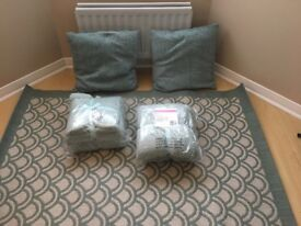 Soft Furnishings! Matching Rug, Cushions & Throws