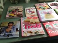 16 quality baking/cookery books