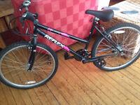 Older kids (8-12) bicycle, 18'' frame, 24'' wheels