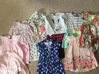 6-9 months girls clothing bundle
