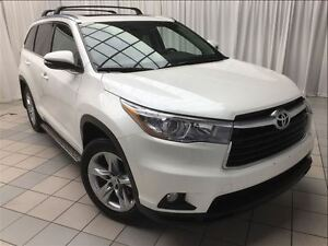 2015 Toyota Highlander Limited Edition: Leather, AWD.