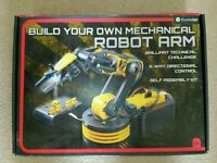 Build your own robotic arm toy