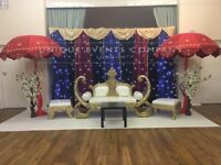 Asian Wedding Stage Hire - We cover all areas