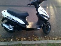 Fully running with MOT 50CC ped