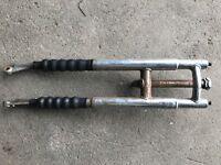 Speedway bike forks