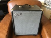 Fender Rumble 100 combi Bass Amp-Excellent Condition £135 (was £249 new)
