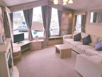 GET YOUR LITTLE PIECE OF HAVEN WITH A LUXURY STATIC CARAVAN ON THE NORTH EAST COAST NR SANDYBAY