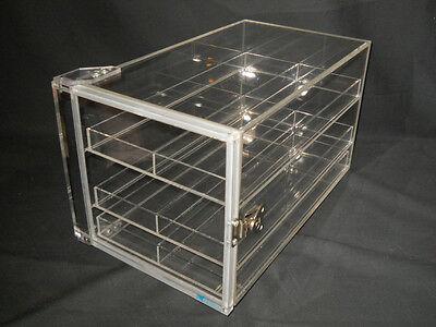 Mitchell Plastics Clear Acrylic 16 X 9 X 9 Dry-cab Desiccator Storage Cabinet