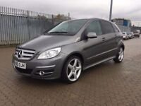2010│Mercedes-Benz B Class 2.0 B200 CDI Sport CVT 5dr│SAT NAV│HALF LEATHER│AMG ALLOYS│HPI CLEAR