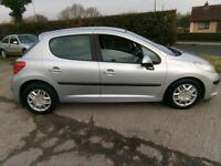 2006 Peugeot 207 1.4 S petrol, nice clean car.