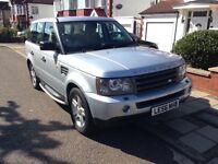 Range Rover sport SE, beige leather