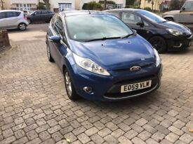 Ford Fiesta Zetec, 1.4 Petrol, Blue, 3 Doors, Great Condition