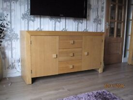 Solid wood sideboard excellent condition