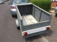 Light weight car trailer.