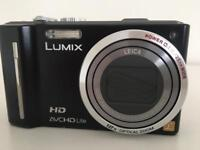 Panasonic LUMIX TZ10 Digital Camera Black in very good condition (12.1MP, 12x Optical Zoom)