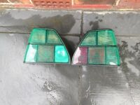 volkswagen golf mk2 rear light lenses