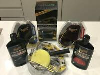 Complete Meguiars Ultimate Compound, Polish and Wax Kit with Dual Action Polisher. Brand New.