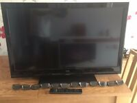 "42"" LCD 3D Television (Technika) with 3D glasses"