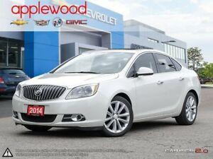 2014 Buick Verano Leather Package FORWARD COLLISION WARNING,...