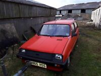 Austin Rover Mini Metro City X; PX swap for retro classic hot hatch