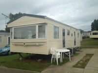Caravan Rental, Rockley Park Poole,£400 Week,3 or 4 Nights from £200,Sleeps 6, fully equipt,