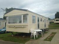 Caravan Rental, Rockley Park Poole,£250 Week,3 or 4 Nights from £150,Sleeps 6, fully equipt,