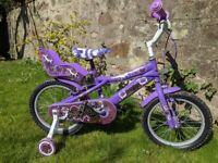 Girls bike - 4 to 6 years