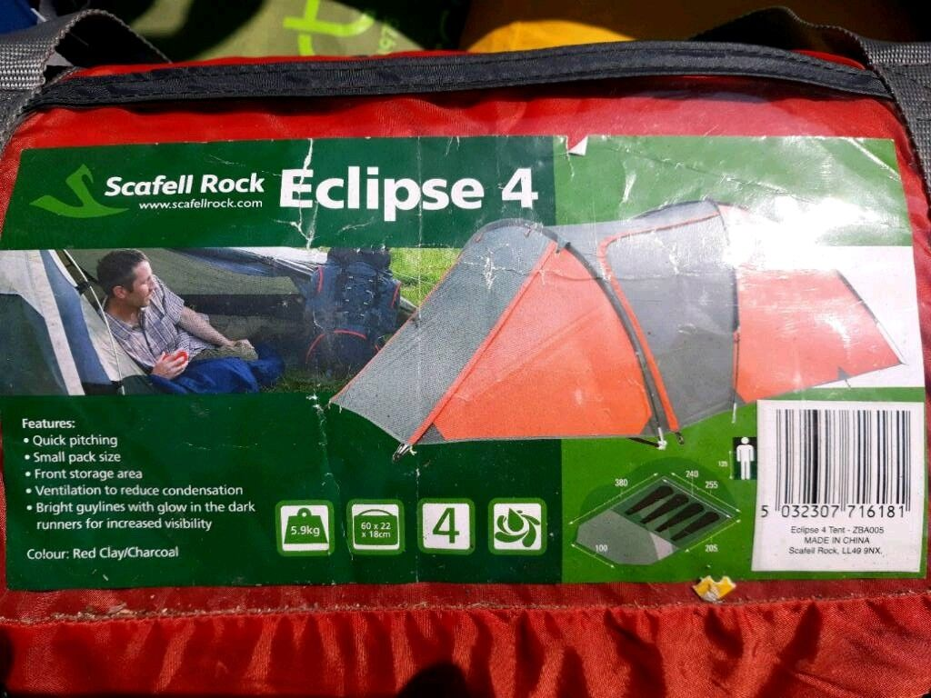 Scafell Rock Eclipse 4 tent | in Poole, Dorset | Gumtree