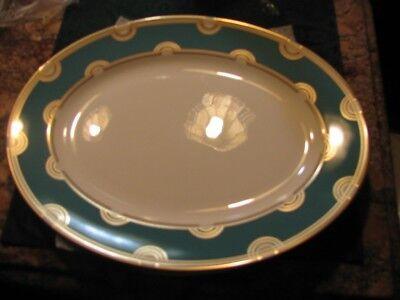 Lenox Kate Spade  Corona Grove Aqua 13 IN Platter New