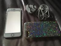 Iphone 8 64gb in silver in exc cond open to all networks