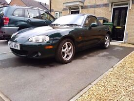 Exceptional 2002 MX5 Automatic 55000 miles!!