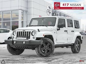 2015 Jeep WRANGLER UNLIMITED Sahara // MOUNTAIN EDITION // DUAL