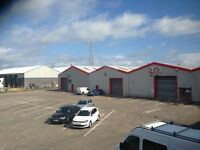 3000 sq ft warehouse for rent in coleraine
