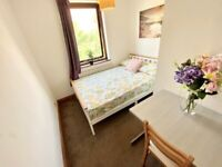 Bright Double Room in Island Gardens