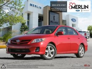 2012 Toyota Corolla LE (A4) PST PAID
