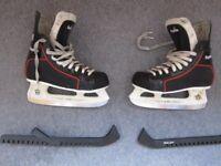 Ice Hockey Skates, UK size 5