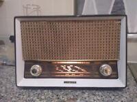 Vintage Restored Philips B3G91U FM/AM Valve Radio. 1957