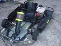 for sale go-kart honda engine 160cc start and runs good very fast