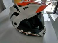 Bell mx9 medium helmet and dark visor