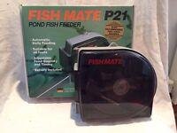 FISH MATE POND FISH FEEDER