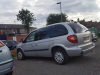 Chrysler Voyager 2.5 TDi 7seat g/cond. recon alternator NO MOT/TAX