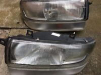 Vauxhall Movano/ Renault Master/ Nissan Interstar headlights 1998 to 2003