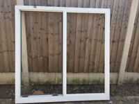White UPVC window double glazing with glasses complete for sale at low price Derby