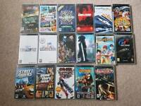 17 rare sony psp PlayStation portable games